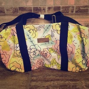 NWOT Benefit small weekender bag